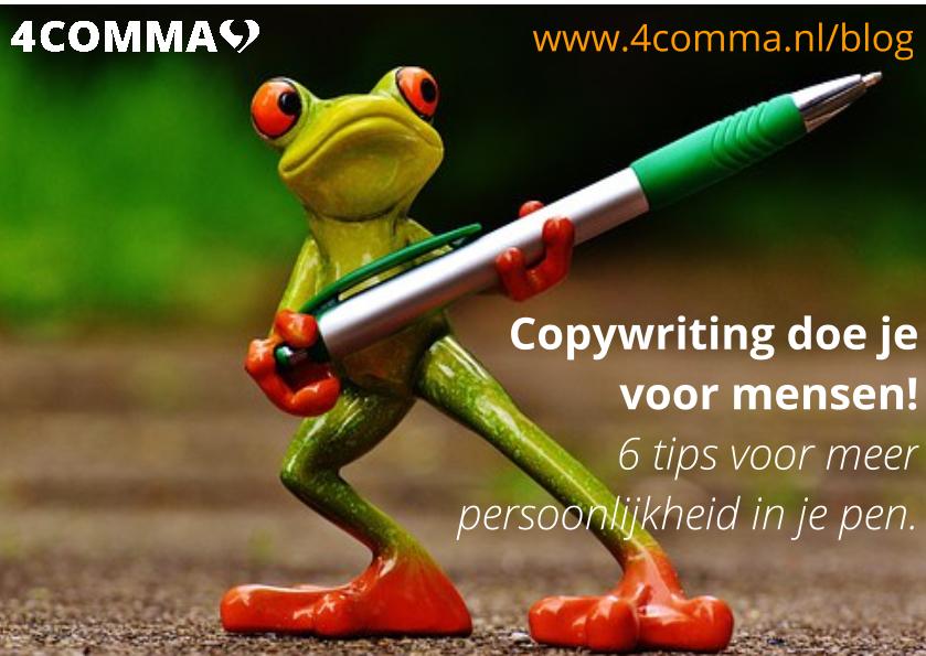 copywriting doe je voor mensen